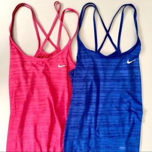 NIKE Dri-Fit Tank Top Bundle, Set of 2